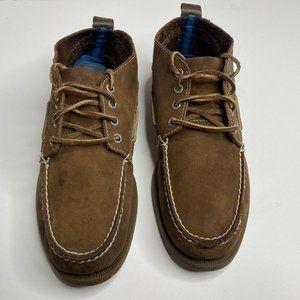 Sperry Top Sider Men J Crew Brown Chukka Boots 10